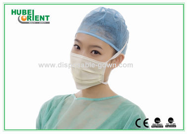 CE / ISO13485 Disposable Face Mask Surgical Mouth Mask For Hospital