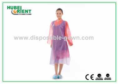 Dustproof Disposable PVC Aprons for Hospital Nursing or Working